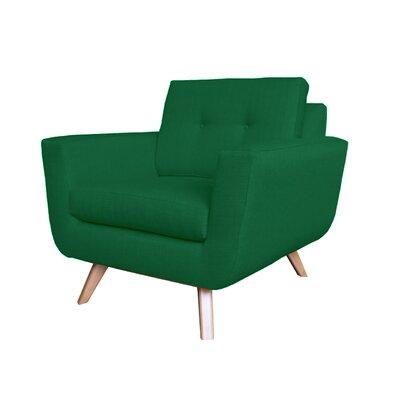 Callie Modern Armchair Upholstery : Green