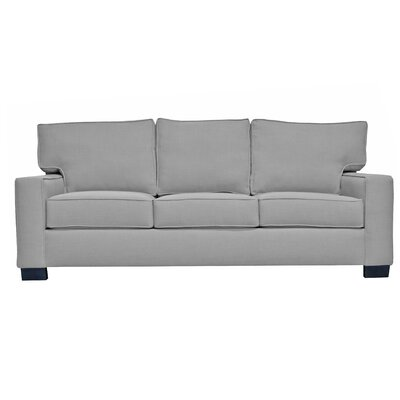 Fullerton Square Arm Sofa Upholstery : Grey