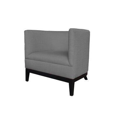 Victoria Barrel Chair Body Fabric: Klein Dolphin