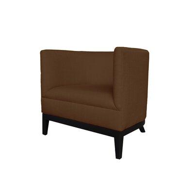 Victoria Barrel Chair Body Fabric: Klein Chocolate