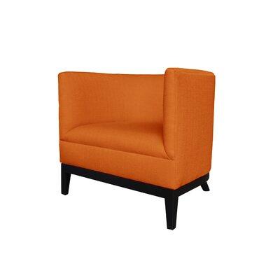 Victoria Barrel Chair Body Fabric: Klein Saffron