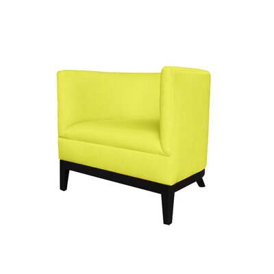 Victoria Round Barrel Chair Upholstery : Yellow