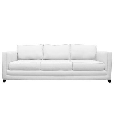 Manhattan 3 Seat Sofa Upholstery : White