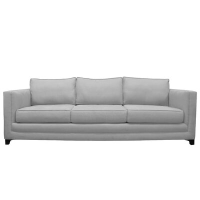 Manhattan 3 Seat Sofa Upholstery : Grey