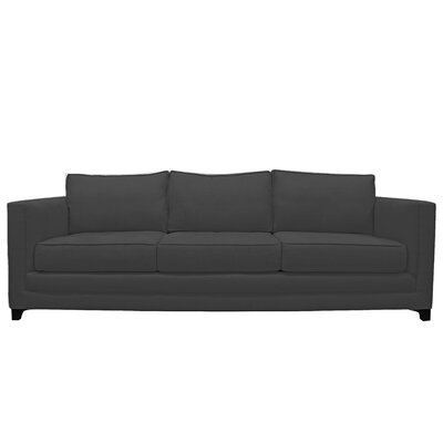 Manhattan 3 Seat Sofa Upholstery : Black