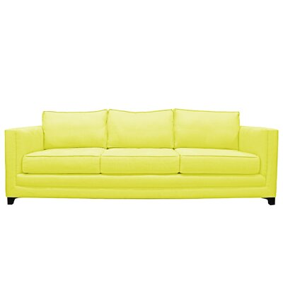 Manhattan 3 Seat Sofa Upholstery : Yellow
