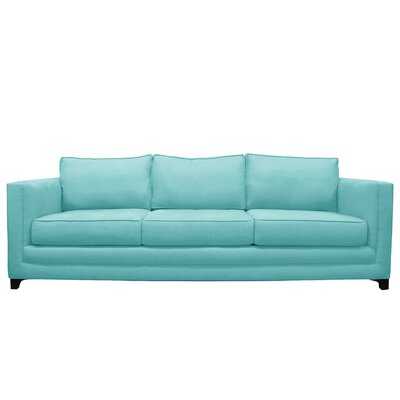 Manhattan 3 Seat Sofa Upholstery : Blue