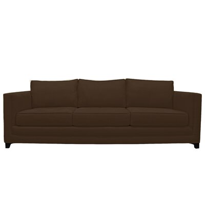 Manhattan 3 Seat Sofa Upholstery : Brown