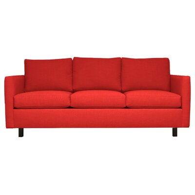 Catalina 3 Seat Sofa Upholstery : Red