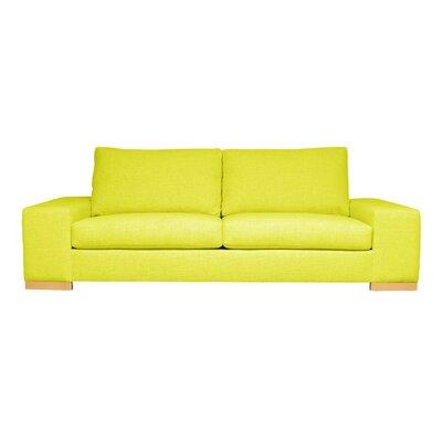 Harrison Mid-Century Modern Sofa Upholstery : Yellow