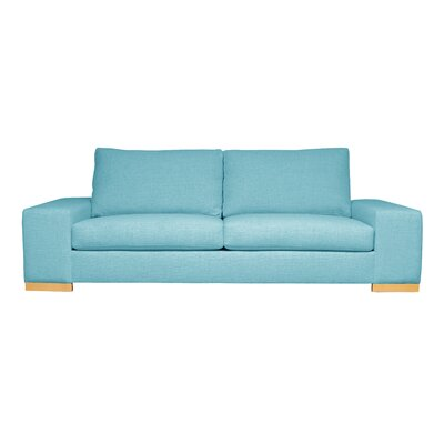 Harrison Mid-Century Modern Sofa Upholstery : Blue