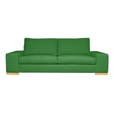 Harrison Mid-Century Modern Sofa Upholstery : Green