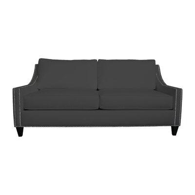Aspen Sofa Upholstery: Black