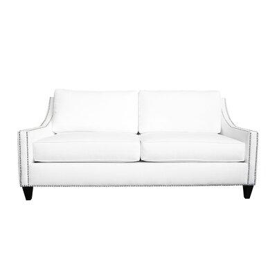 Aspen Sofa Upholstery: White