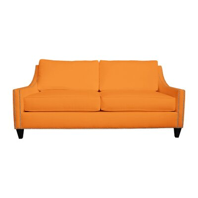 Aspen Sofa Upholstery: Orange