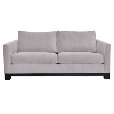 Baker Sofa Upholstery: Gray