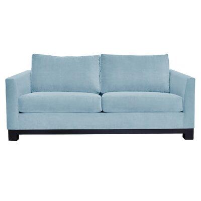 Baker Sofa Upholstery: Blue