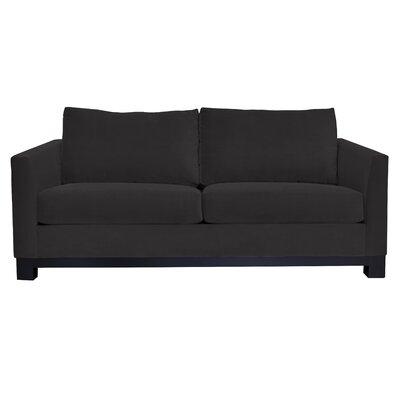 Baker Sofa Upholstery: Black
