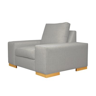 Harrison Club Chair Upholstery: Gray
