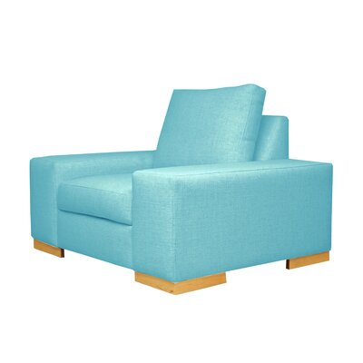 Harrison Club Chair Upholstery: Blue