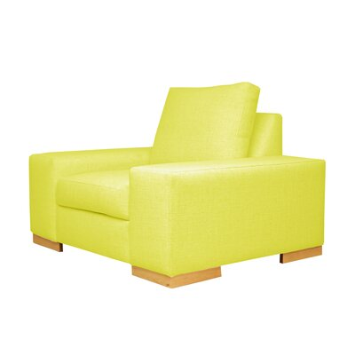 Harrison Club Chair Upholstery: Yellow