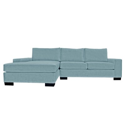 Dale Reversible Sectional Upholstery: Blue