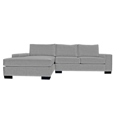 Dale Reversible Sectional Upholstery: Gray