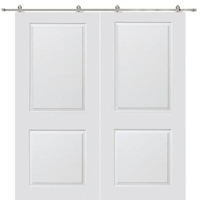 Verona Home Design Cambridge MDF 2 Panel Interior Door - Opening Width: 60
