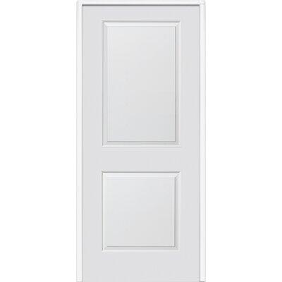 Verona Home Design Cambridge MDF 2 Panel Primed Interior Door - Opening Width: 32