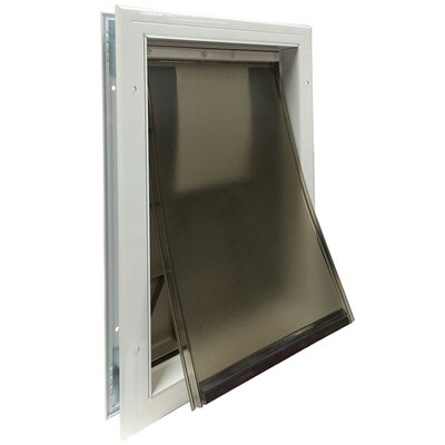 Pet Door Size: Large (19.63 H x 12.75 W x 2 L)