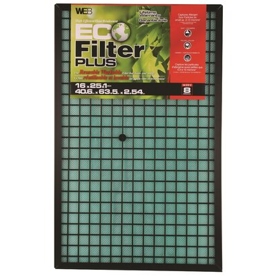 Plus Permanent Electrostatic Air Filter Size: 25