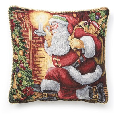 Santa Claus Design Throw Pillow