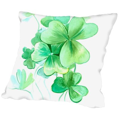 Suren Nersisyan St. Patricks Day Throw Pillow Size: 20 H x 20 W x 2 D