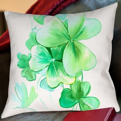 Suren Nersisyan St. Patricks Day Throw Pillow Size: 18 H x 18 W x 2 D