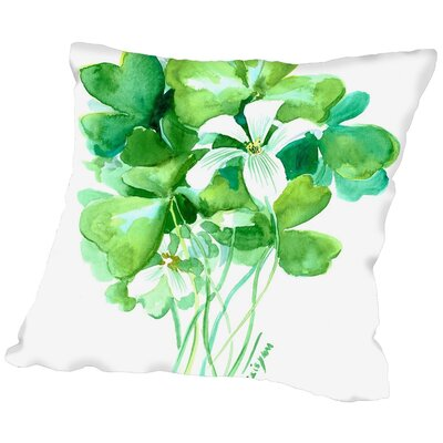 Suren Nersisyan St. Patricks Day Throw Pillow Size: 16 H x 16 W x 2 D