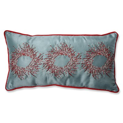 Christmas Wreaths Lumbar Pillow