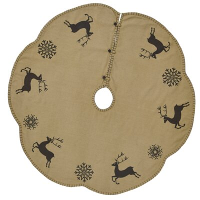 "Table-Top Tree Skirt Size: 0.05"" H x 48"" W x 48"" D HLDY1346 30062142"
