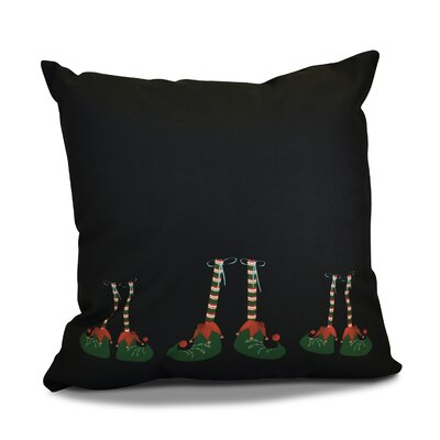 Elfin Magic Throw Pillow Size: 18 H x 18 W