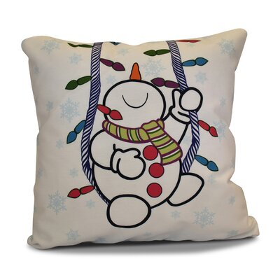 Winter Whimsy Throw Pillow Size: 26 H x 26 W