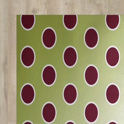 Green Indoor/Outdoor Area Rug Rug Size: 3 x 5
