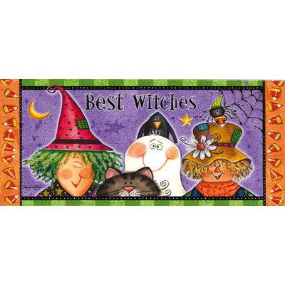 New Best Witches Sassafras Doormat