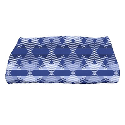 Hannukah Star Light Bath Towel Color: Blue