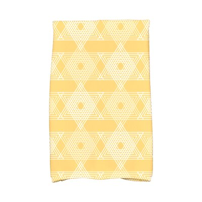 Hannukah Star Light Hand Towel Color: Yellow
