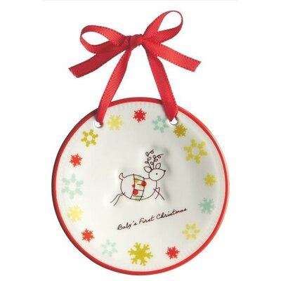 "Reindeer ""Baby's First Christmas"" Ornament"