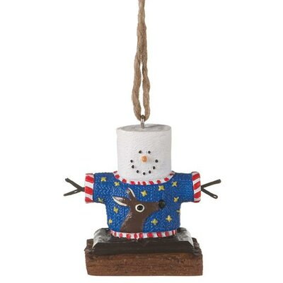 S'mores Ugly Reindeer Sweater Ornament