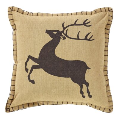 Prancer 100% Cotton Throw Pillow