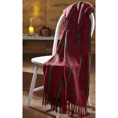 Cumberland Woven Cotton Throw Blanket