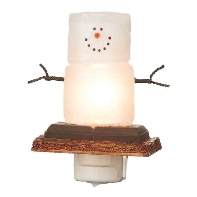 Smores Snowmen Night Light