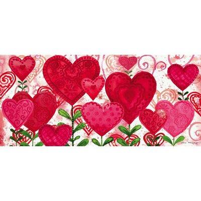 Planted Valentine Sassafras Doormat