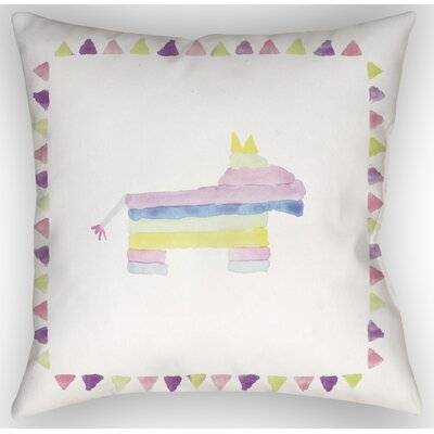 Pinata Indoor/Outdoor Throw Pillow Size: 18 H x 18 W x 4 D